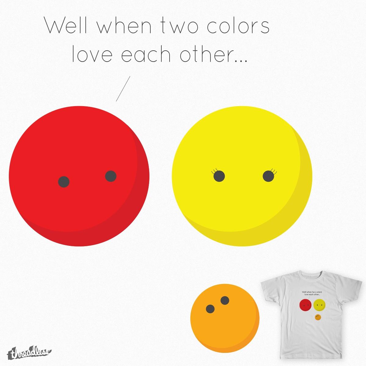 Color Talk by cjiro on Threadless