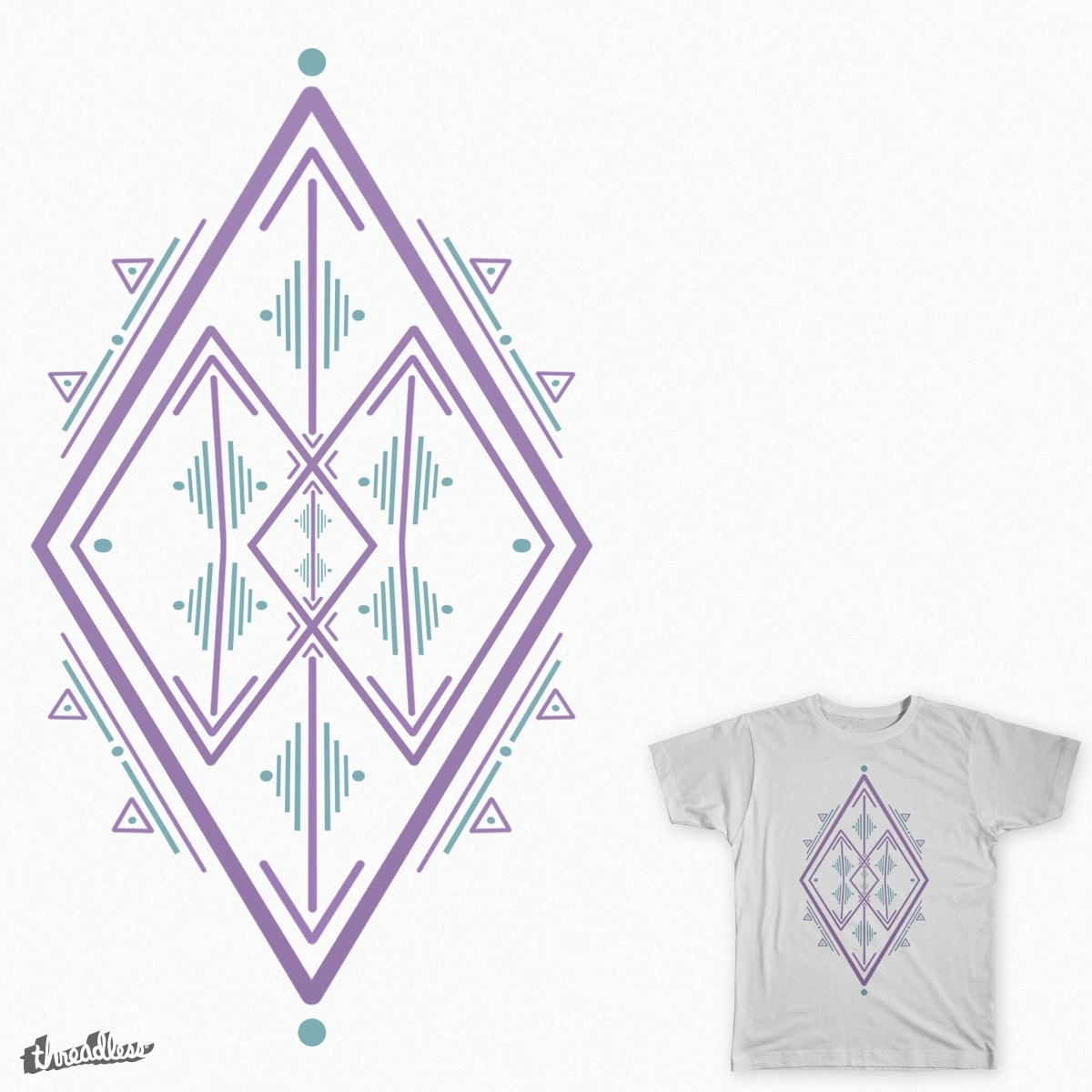 The Abstract Diamond. by TheArtistDude on Threadless