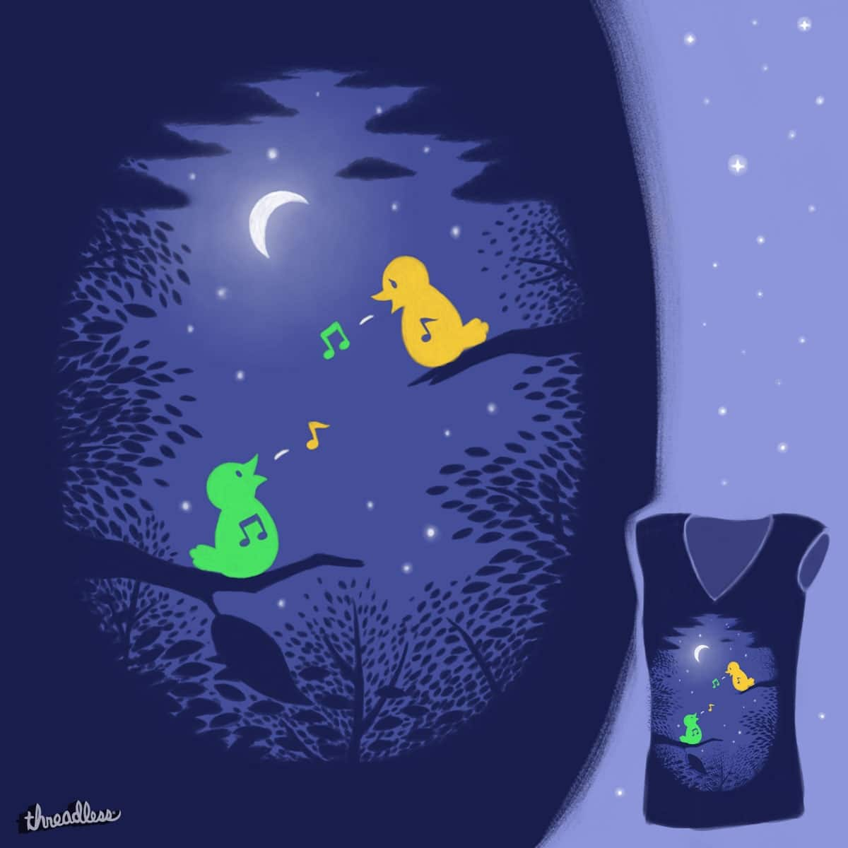 Heart Song by brainrust on Threadless