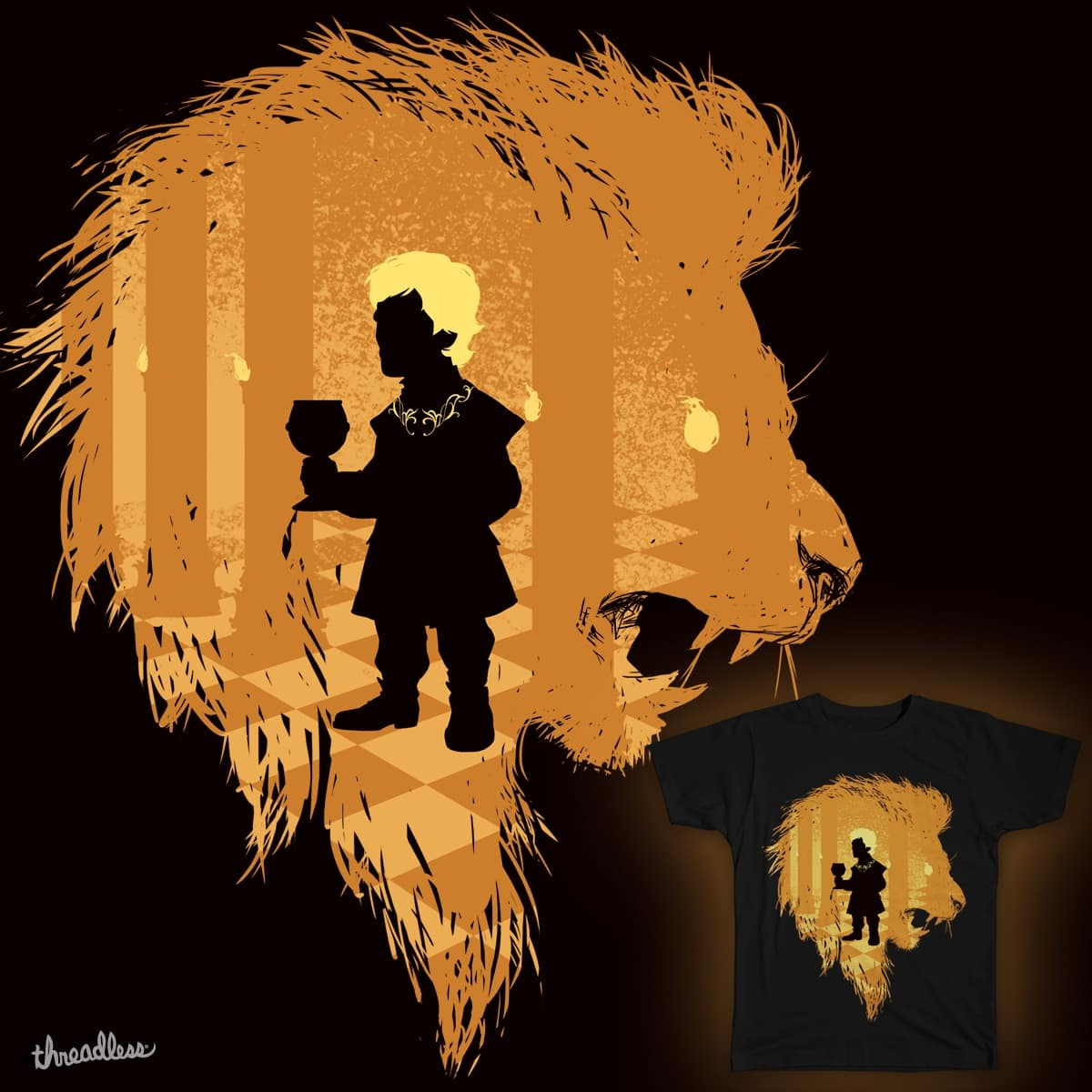 The Lion's Imp by Chimaera Wear on Threadless