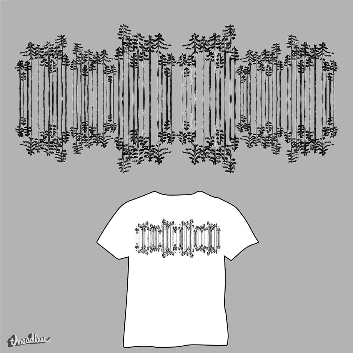Tree Reflection  by gudsell123 on Threadless