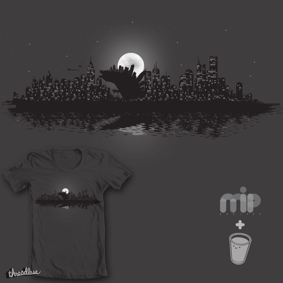 Up From The Depths by mip1980 and Robo Rat on Threadless