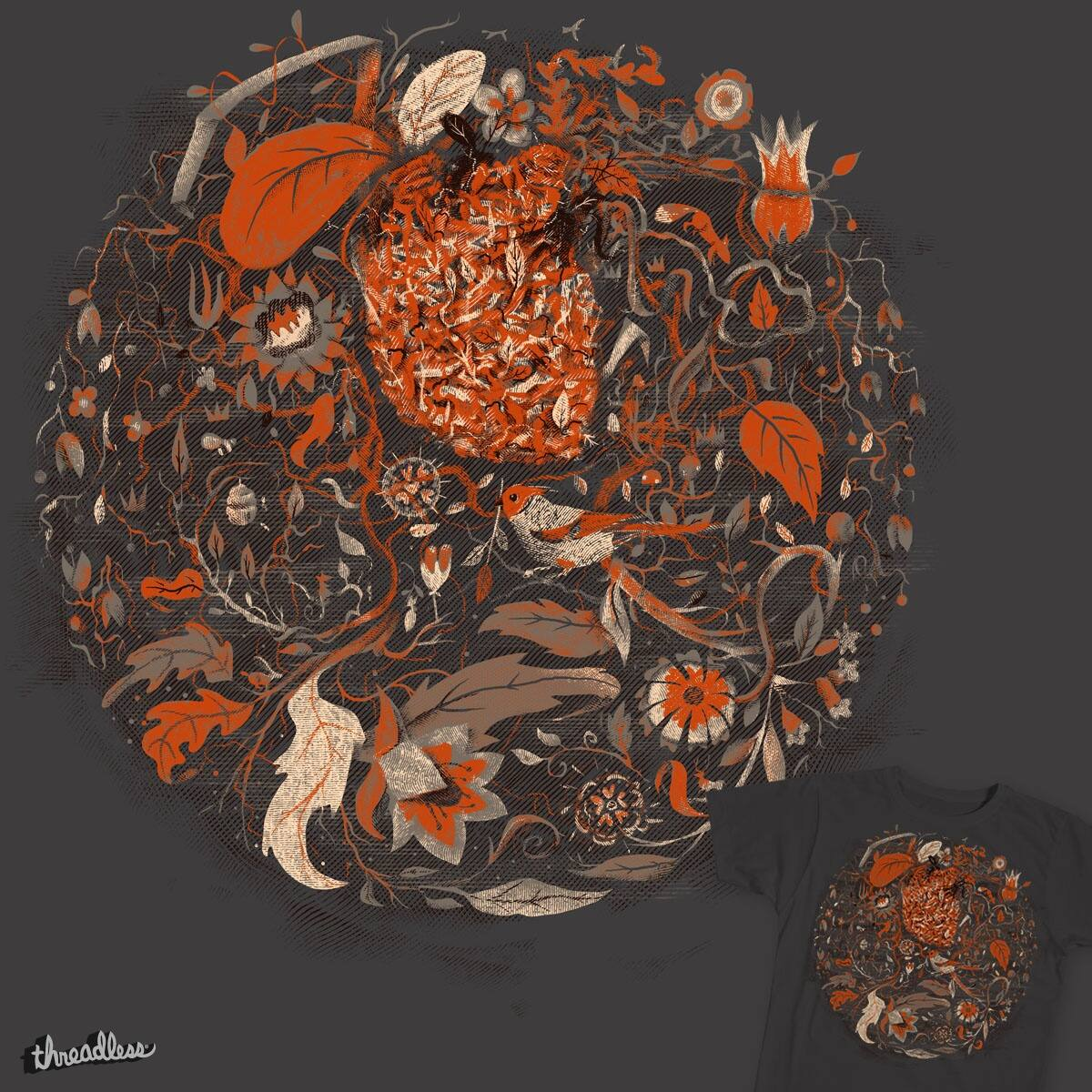 Wild at heart by heymonkeyriot on Threadless