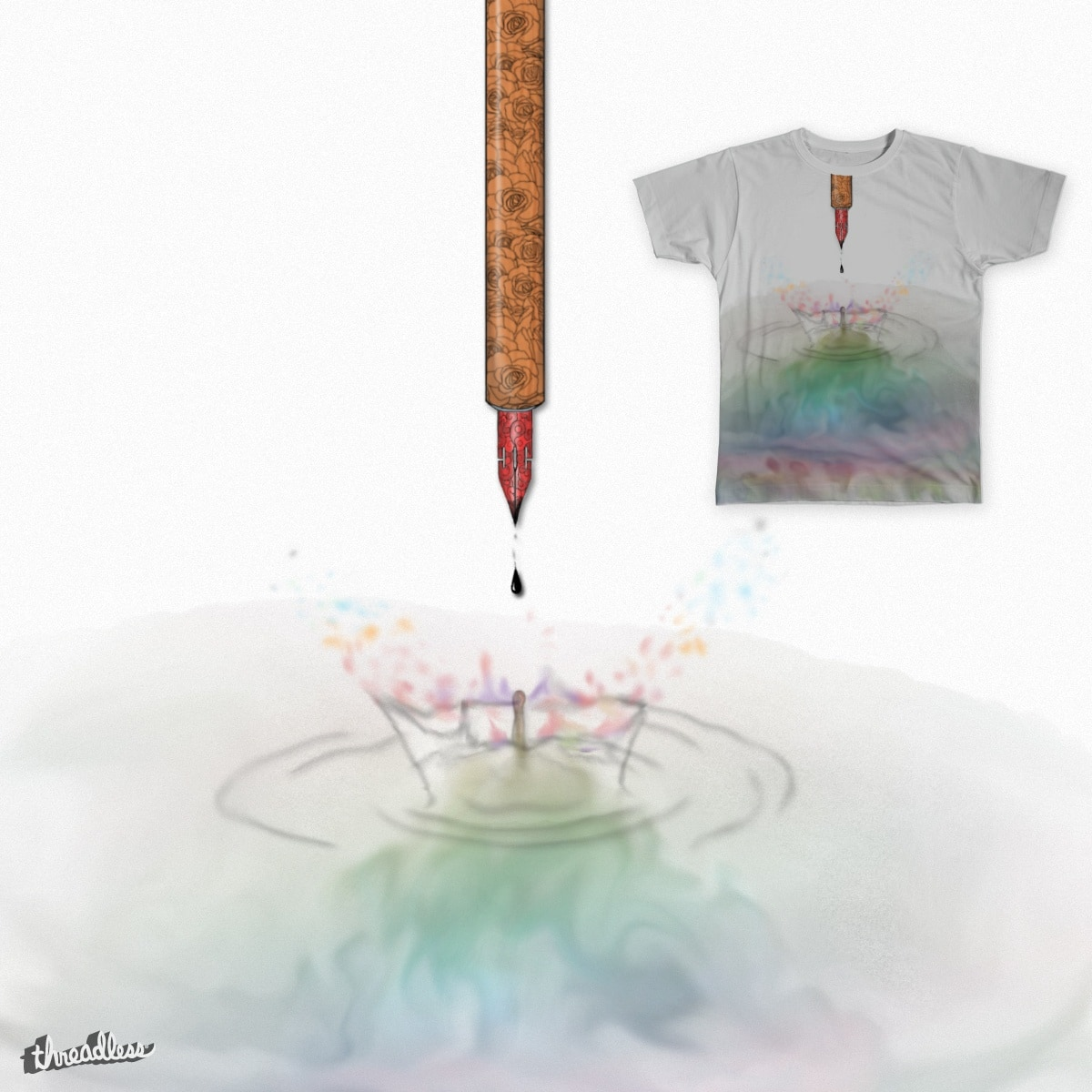 Of All the Colors by kingofhearts on Threadless