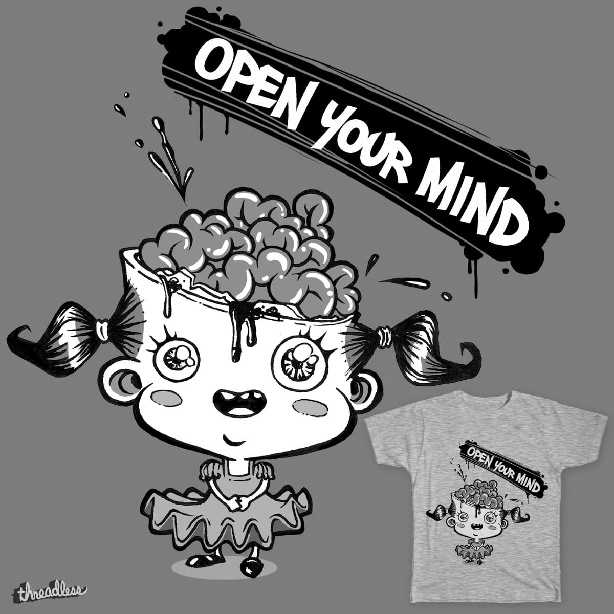 Open Your Mind by JonathanLemay on Threadless