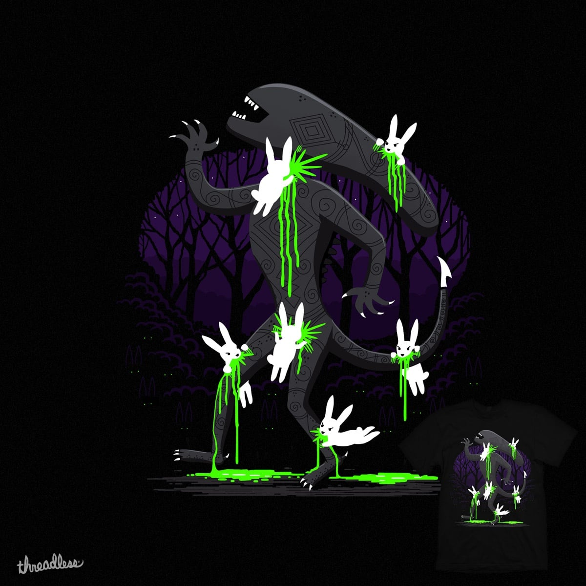 Alien Vs Predators by kuli_grafis on Threadless