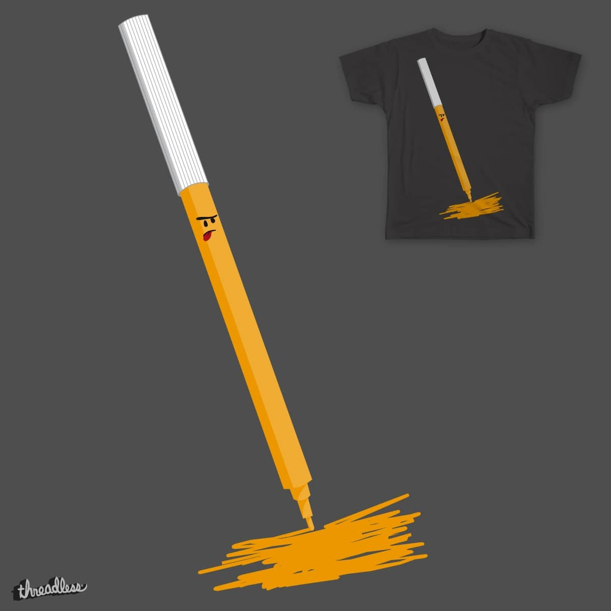 Angry pen by zarika on Threadless