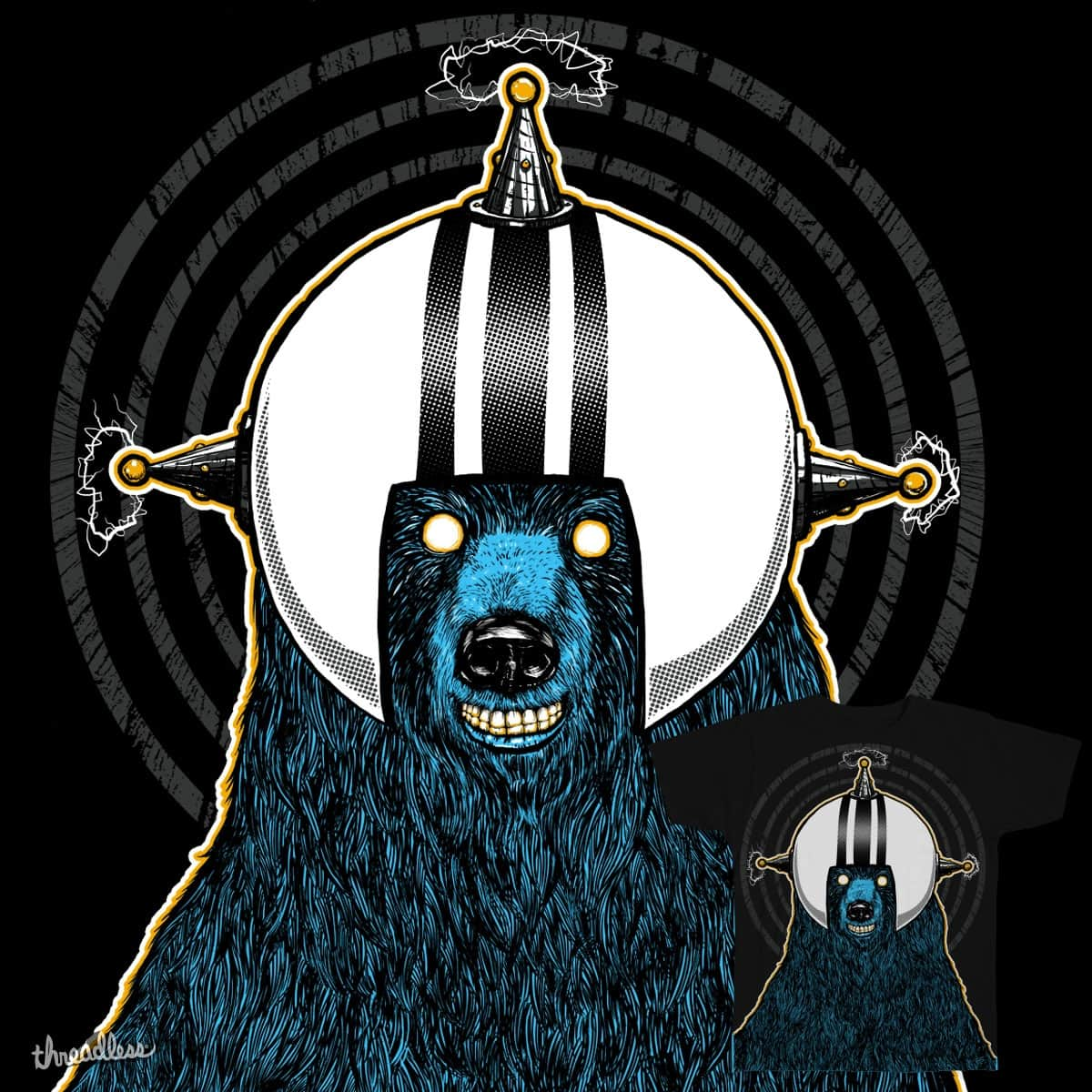Spacebear by sixstyle on Threadless