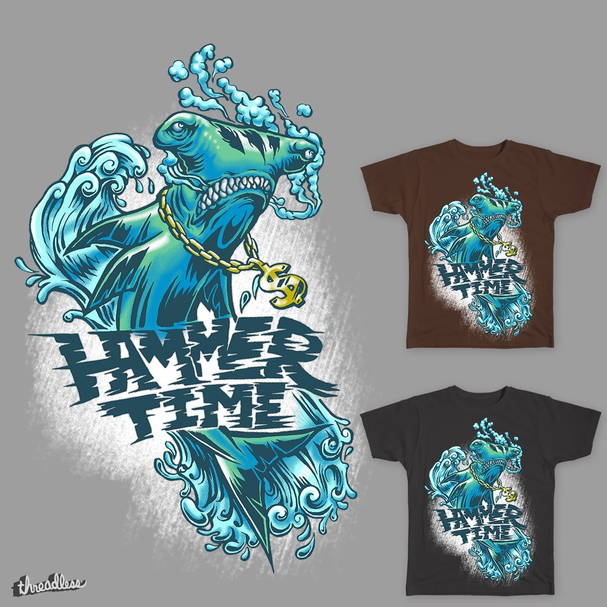 Hammer Time by Juamparam on Threadless