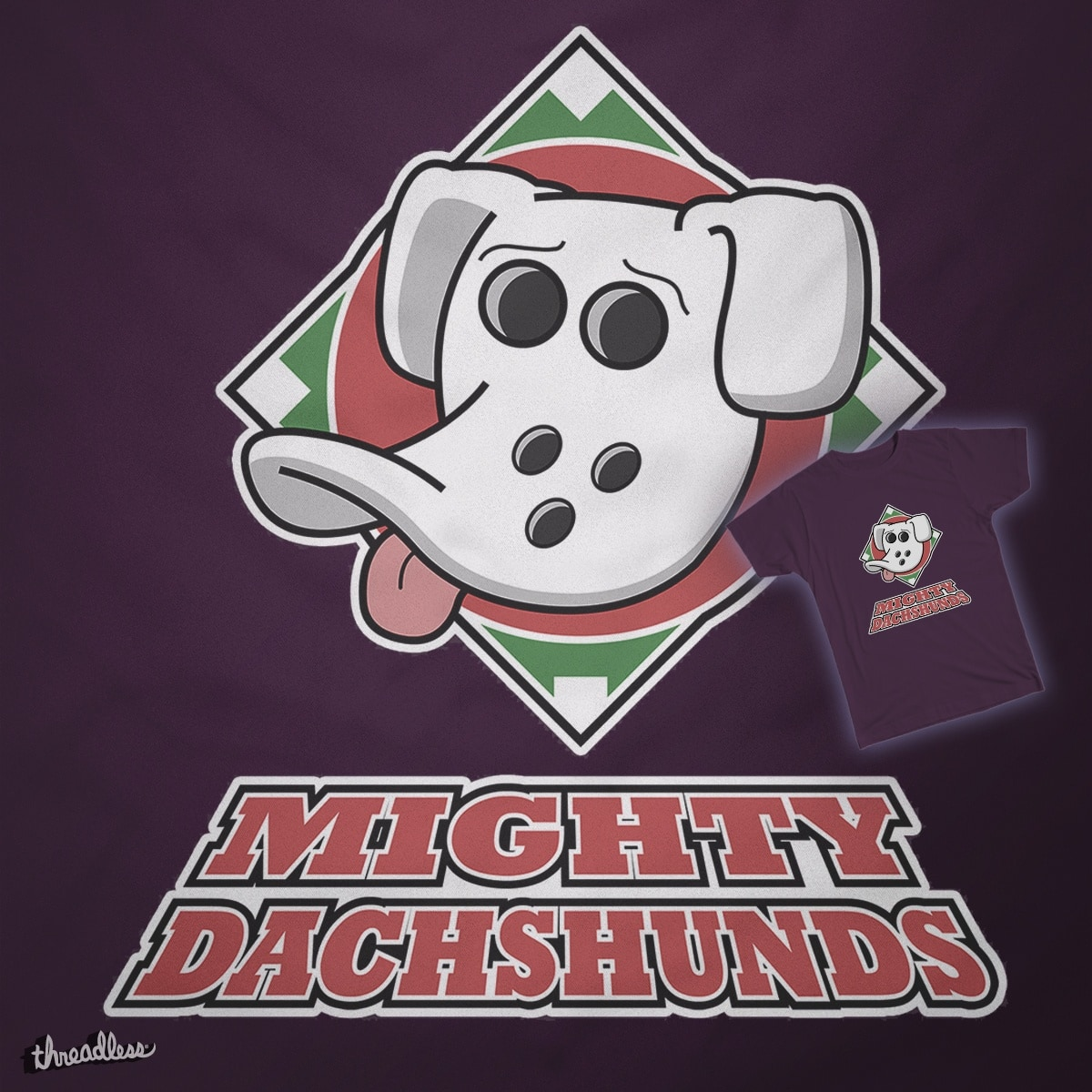 Mighty Dachshunds by johnmazz on Threadless