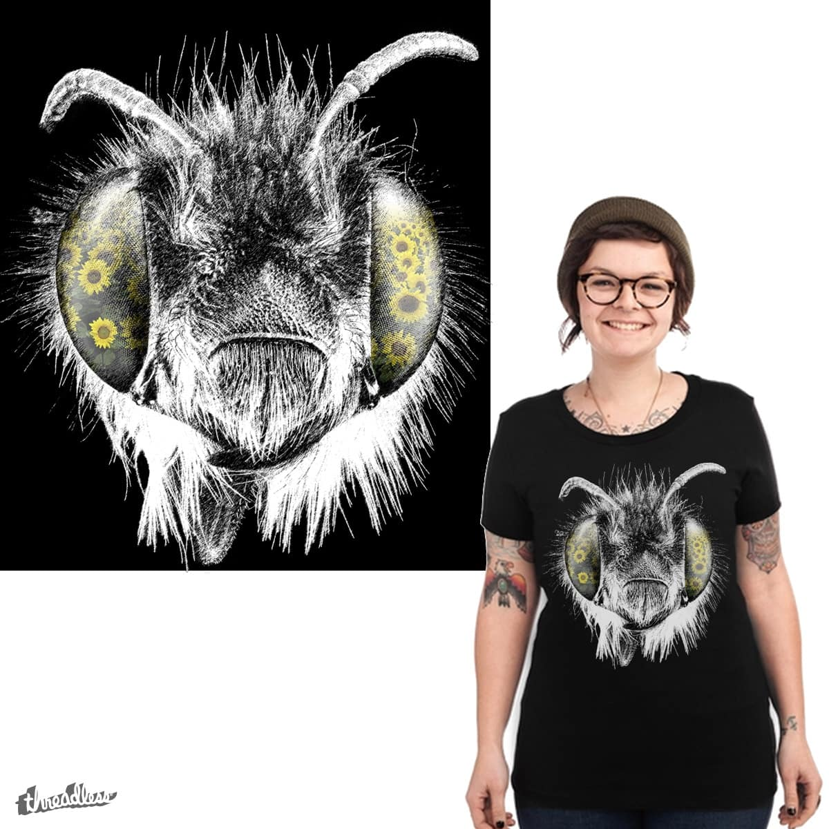bee's vision by soe on Threadless