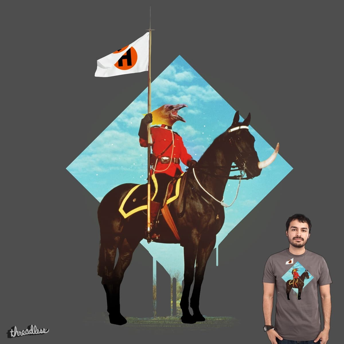 Sous-commissaire MKII by fightstacy on Threadless
