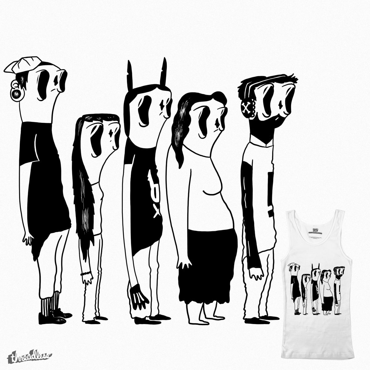 queue by Radletimtam on Threadless