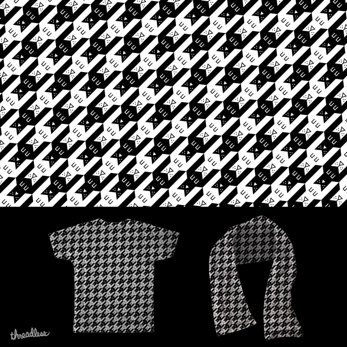 Old Houndstooth by murraymullet on Threadless