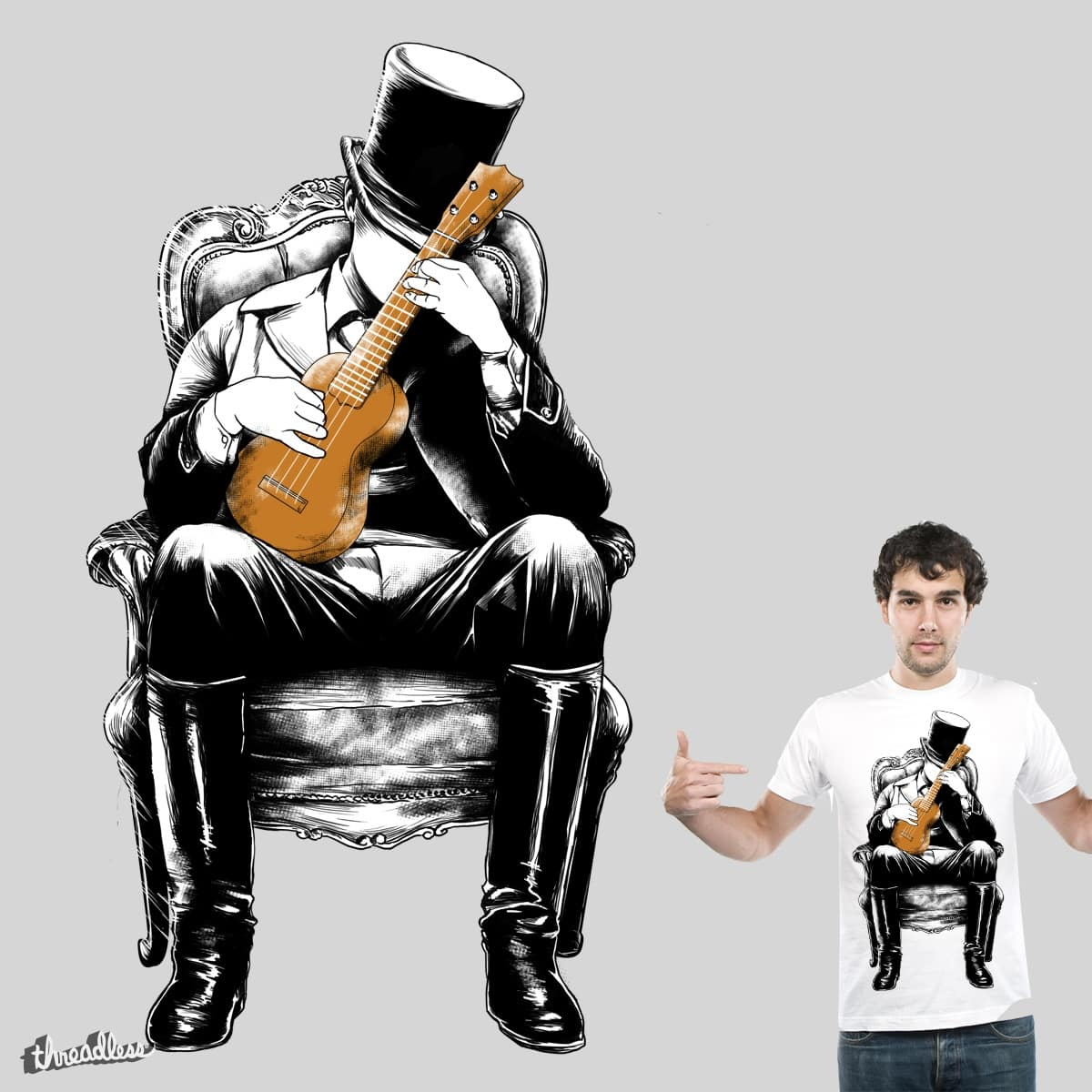 rest and play your guitar by hadee on Threadless