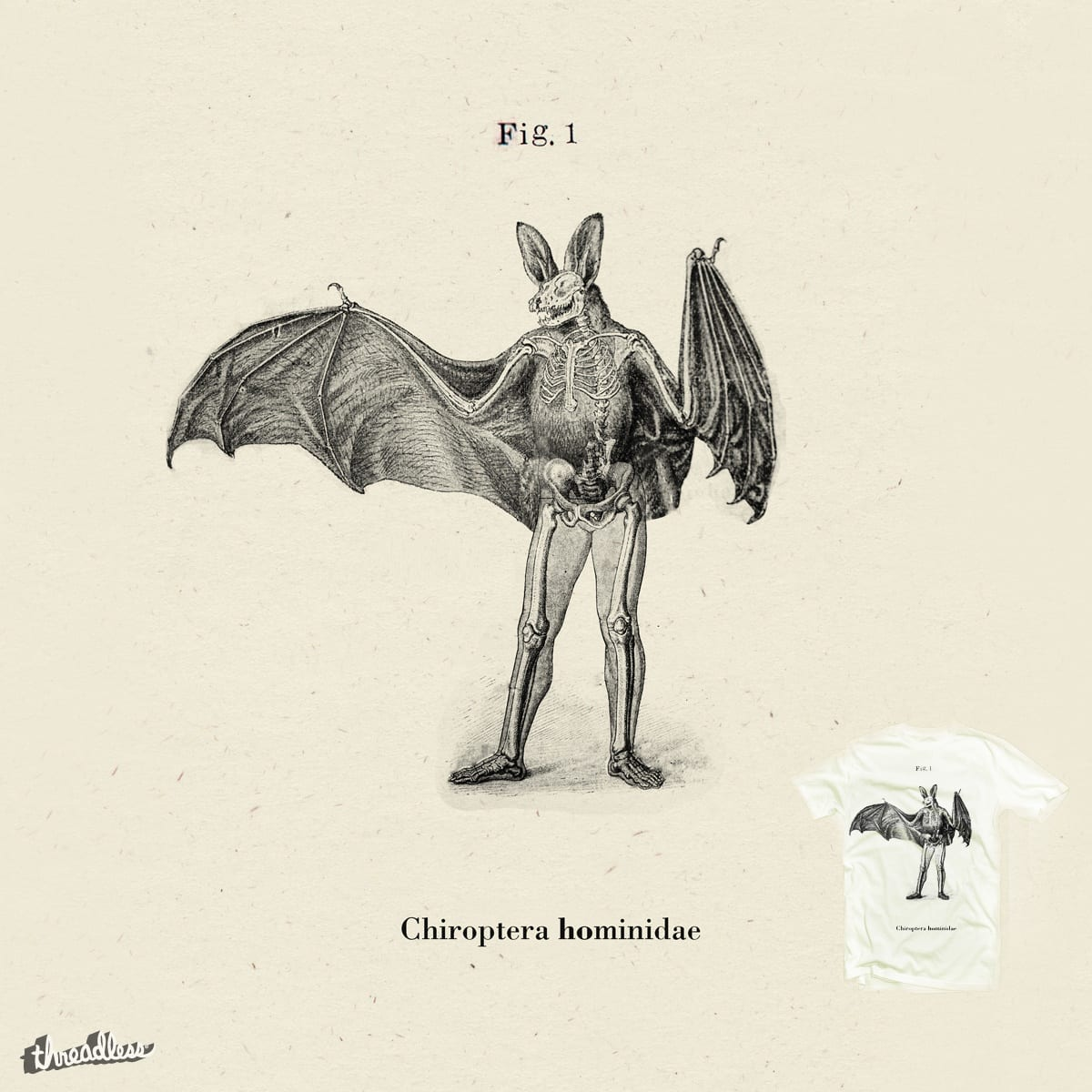 score chiroptera hominidae by drawingevils on threadless