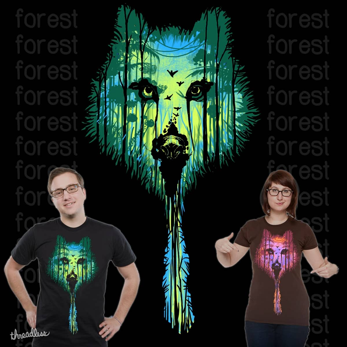 WINTER forest by nokitomedo on Threadless