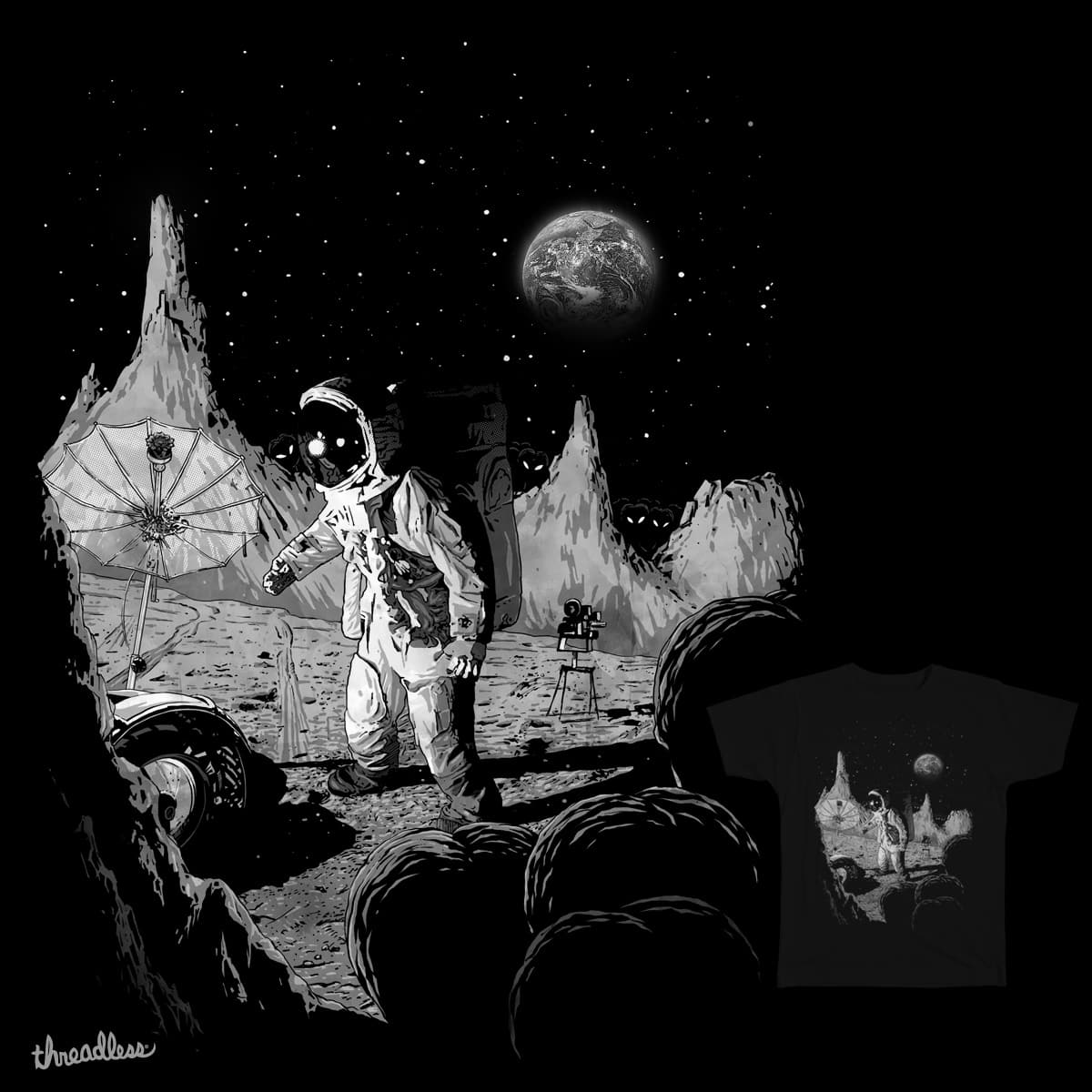 alien from earth by ronin84 and sendisign on Threadless