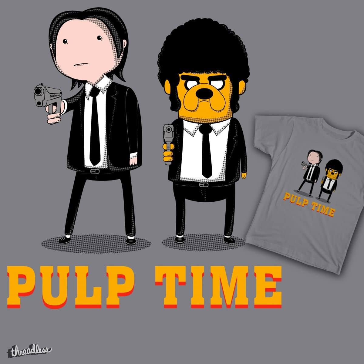 Pulp Time by Melonseta on Threadless