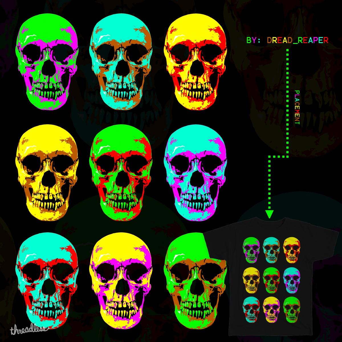 Neon Skulls by Nick_Nightshade on Threadless