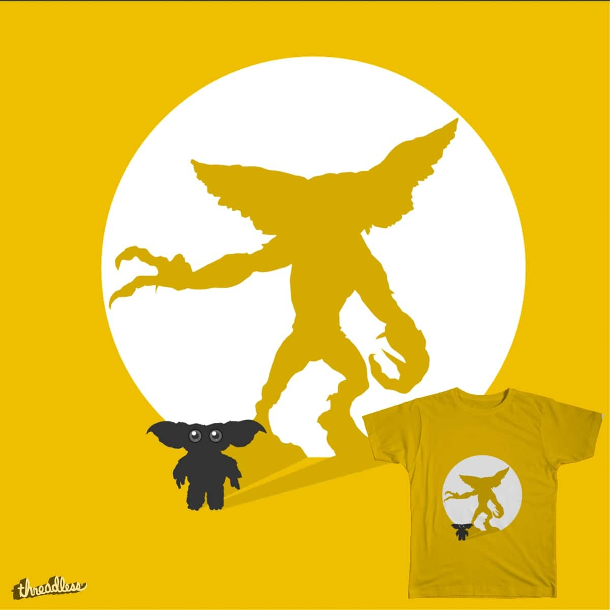 bad shadow by charlie.panapa on Threadless