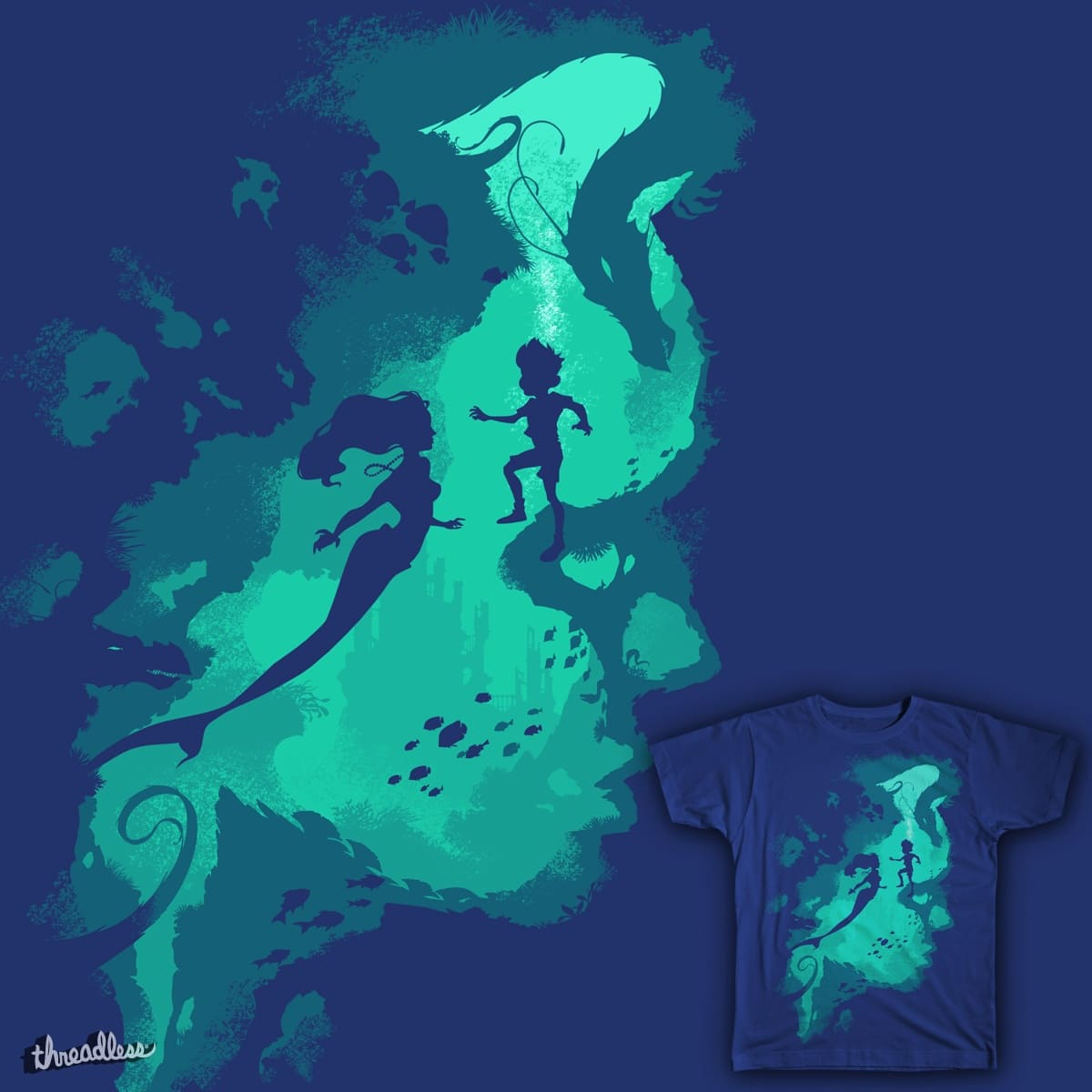 Down Below by Chimaera Wear on Threadless