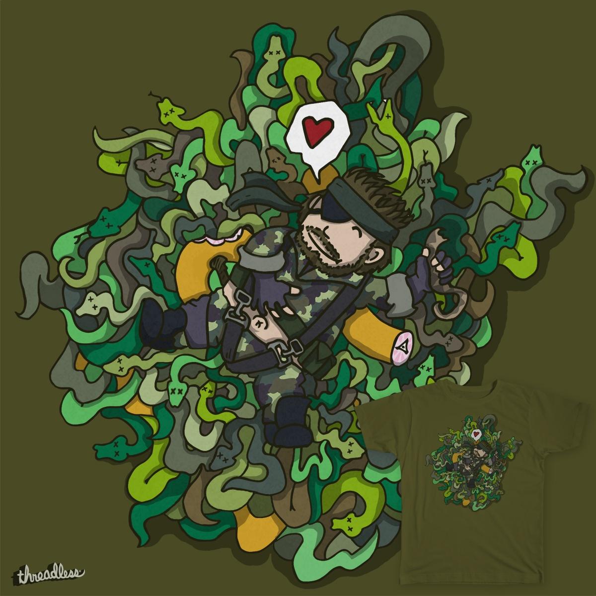 Snake Eater by ProobEdu on Threadless