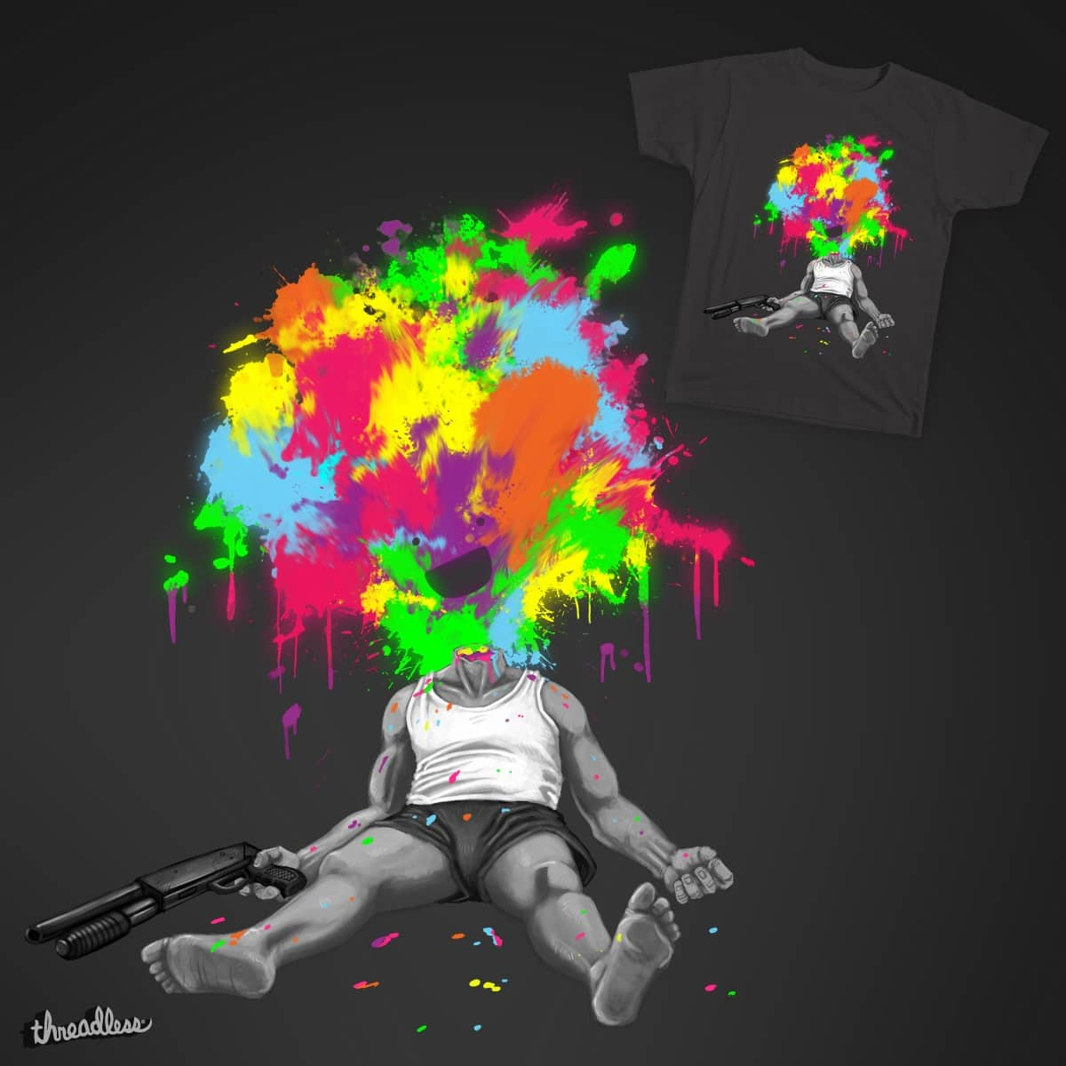 Happy Ending by Private_Random on Threadless