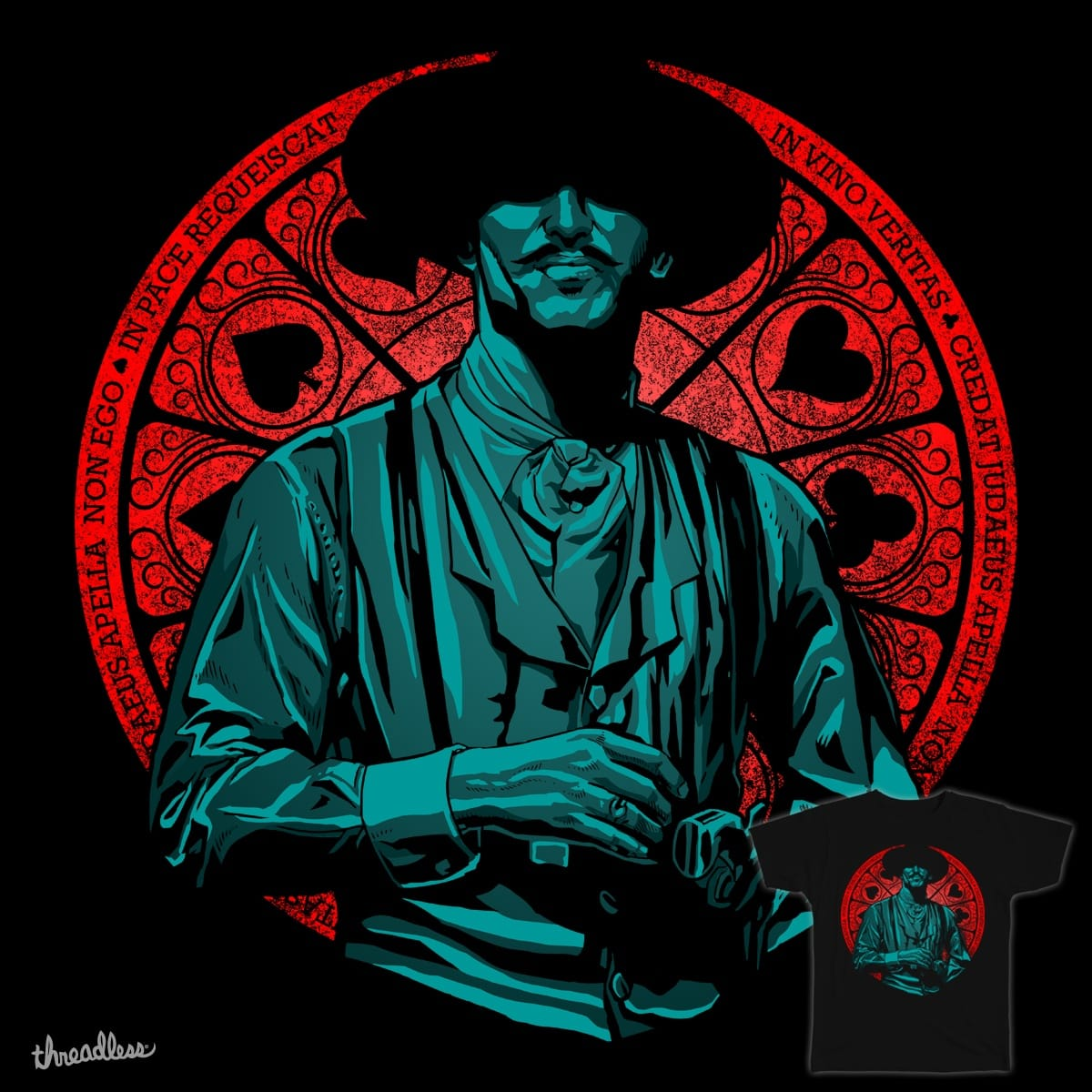 I'm Your Huckleberry by iskandarsalim on Threadless