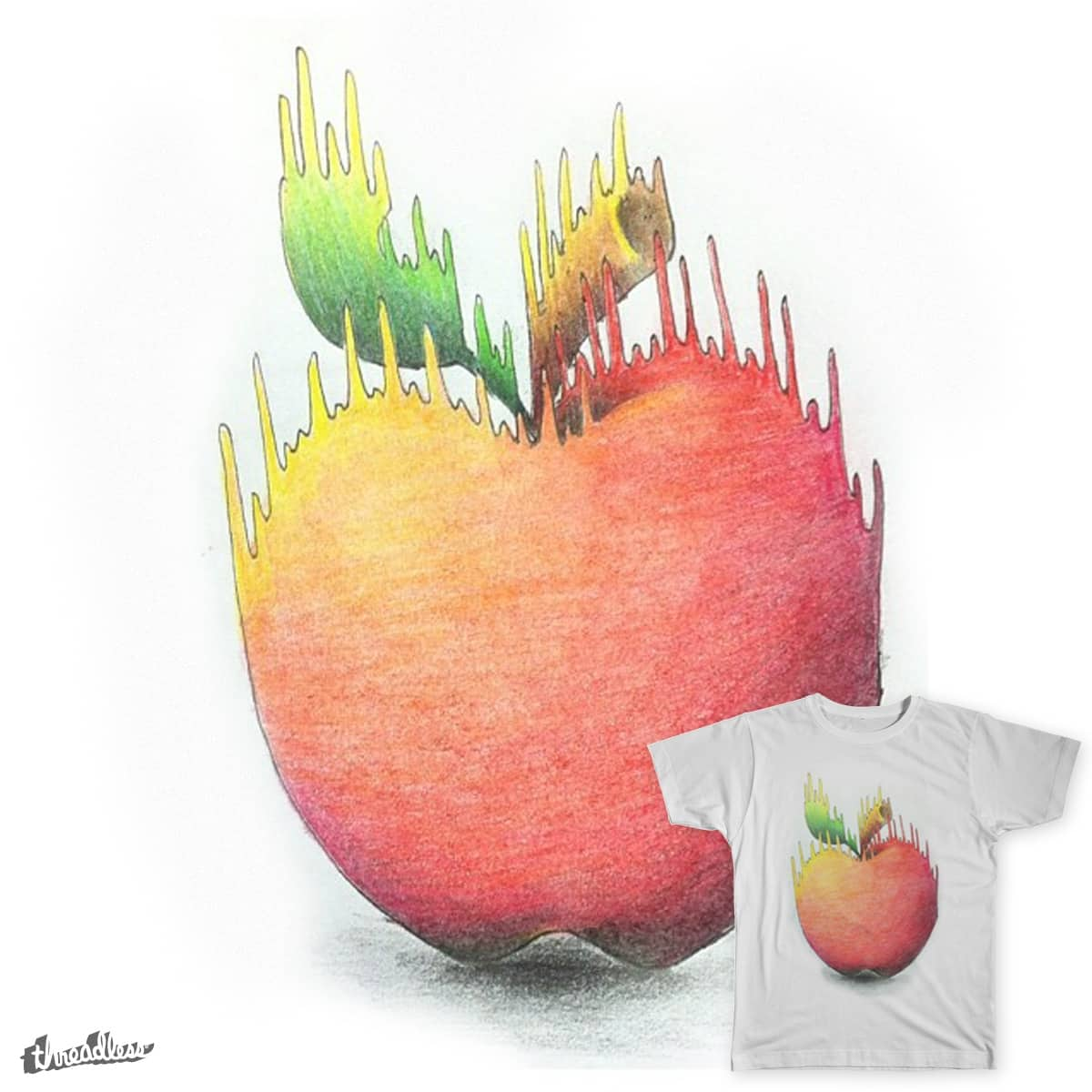 Apple by fraaaanco on Threadless