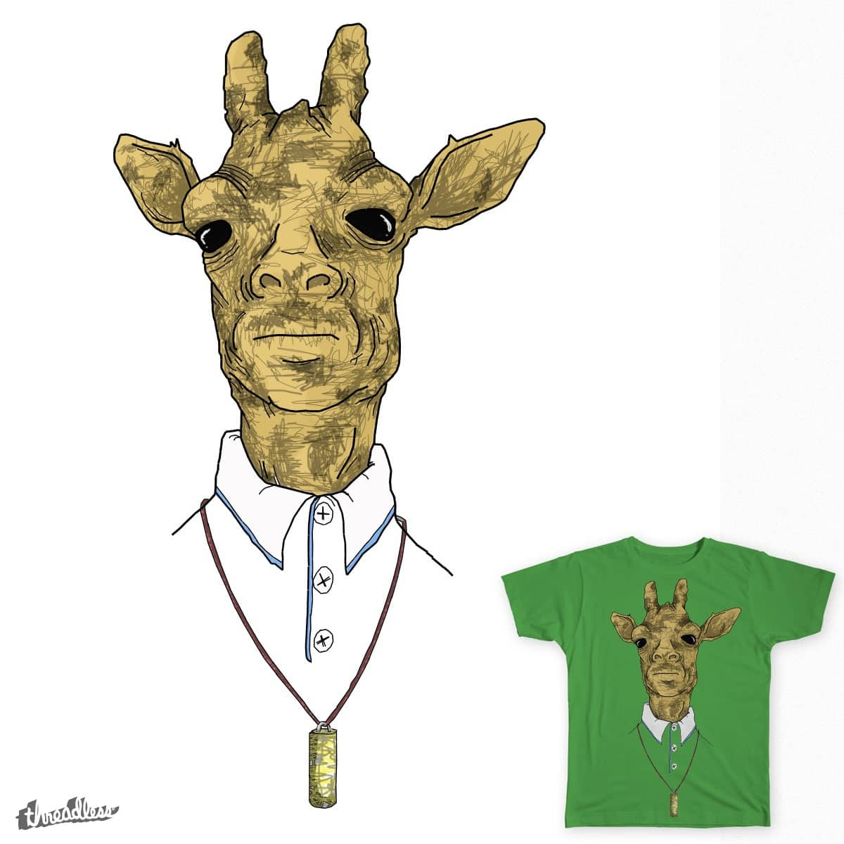 giraffe bro by the corner culture kid on Threadless