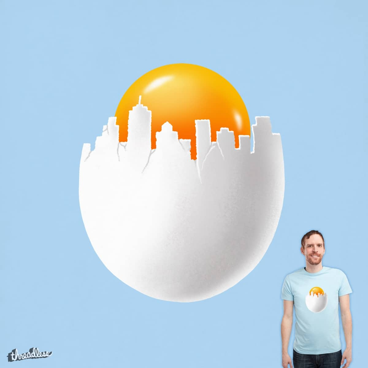 Egg City by ben chen on Threadless