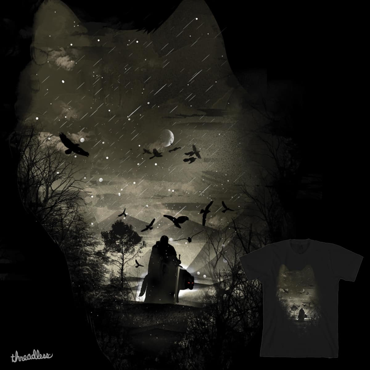 The Lord Crow by dandingeroz on Threadless