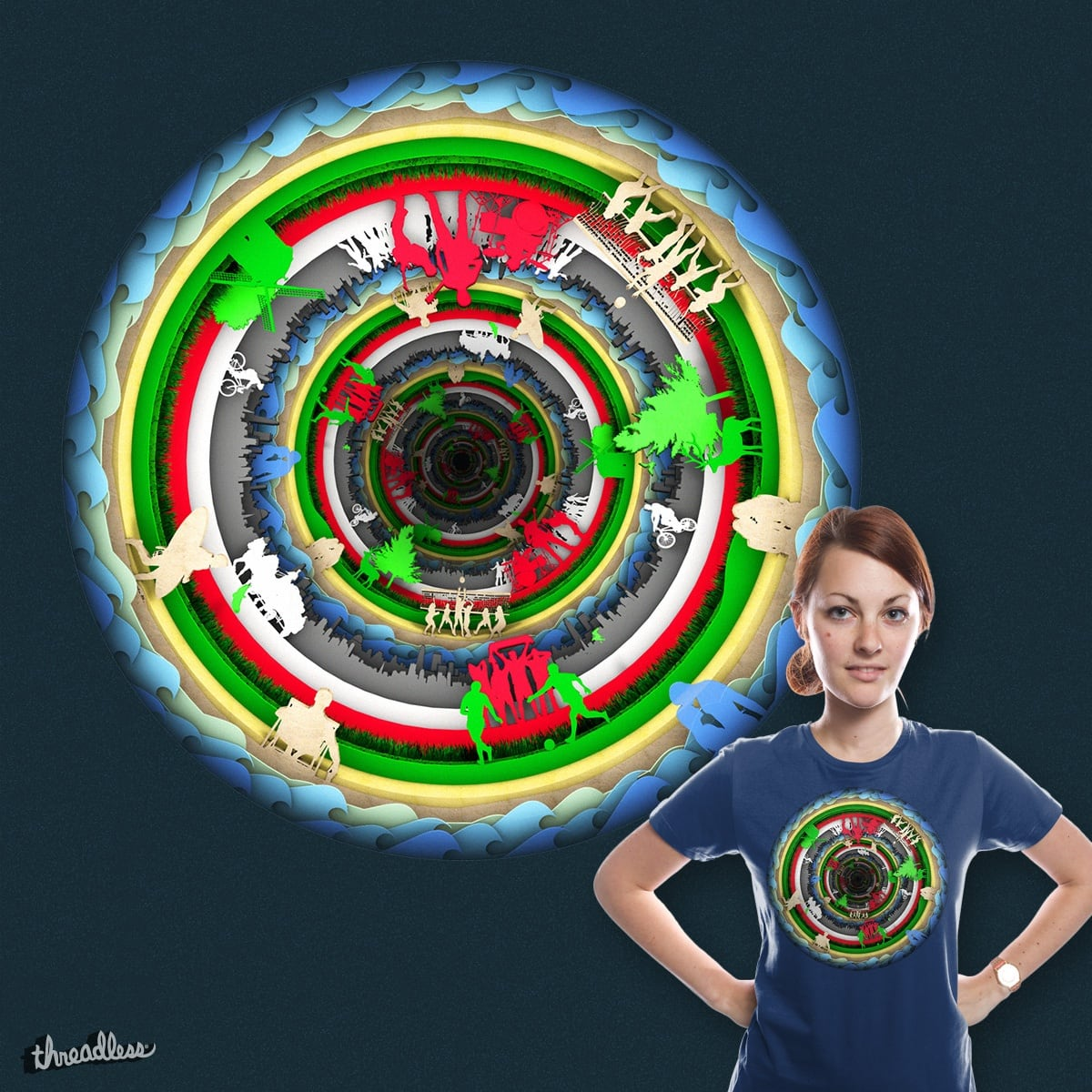 Circles by G3RGO on Threadless