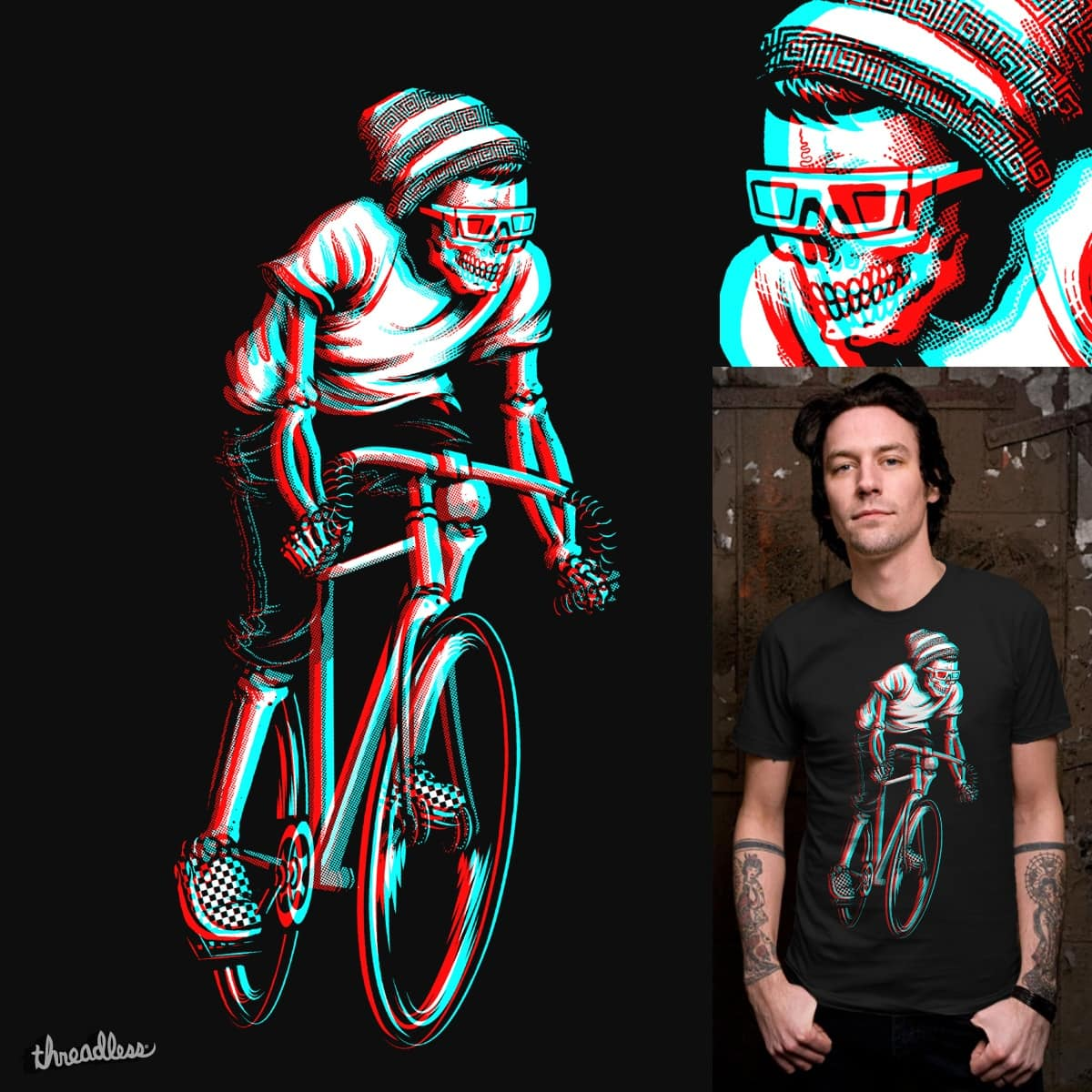 Ride In 3d A Cool T Shirt By Es427 On Threadless