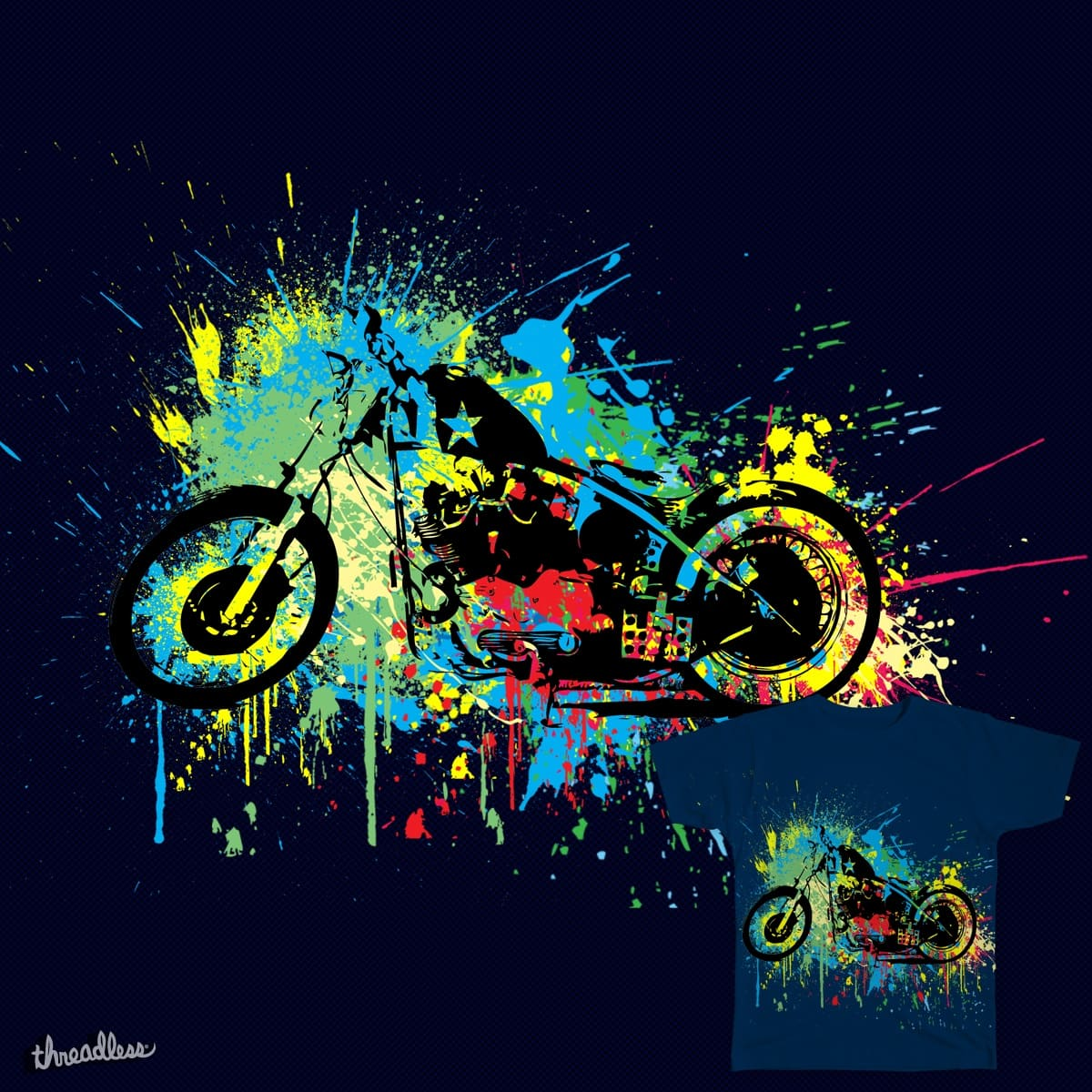 colorful ride....... by creator020 on Threadless