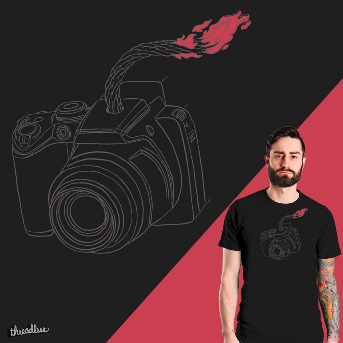 Photo Bomb by Jacob Thomas Illustration on Threadless