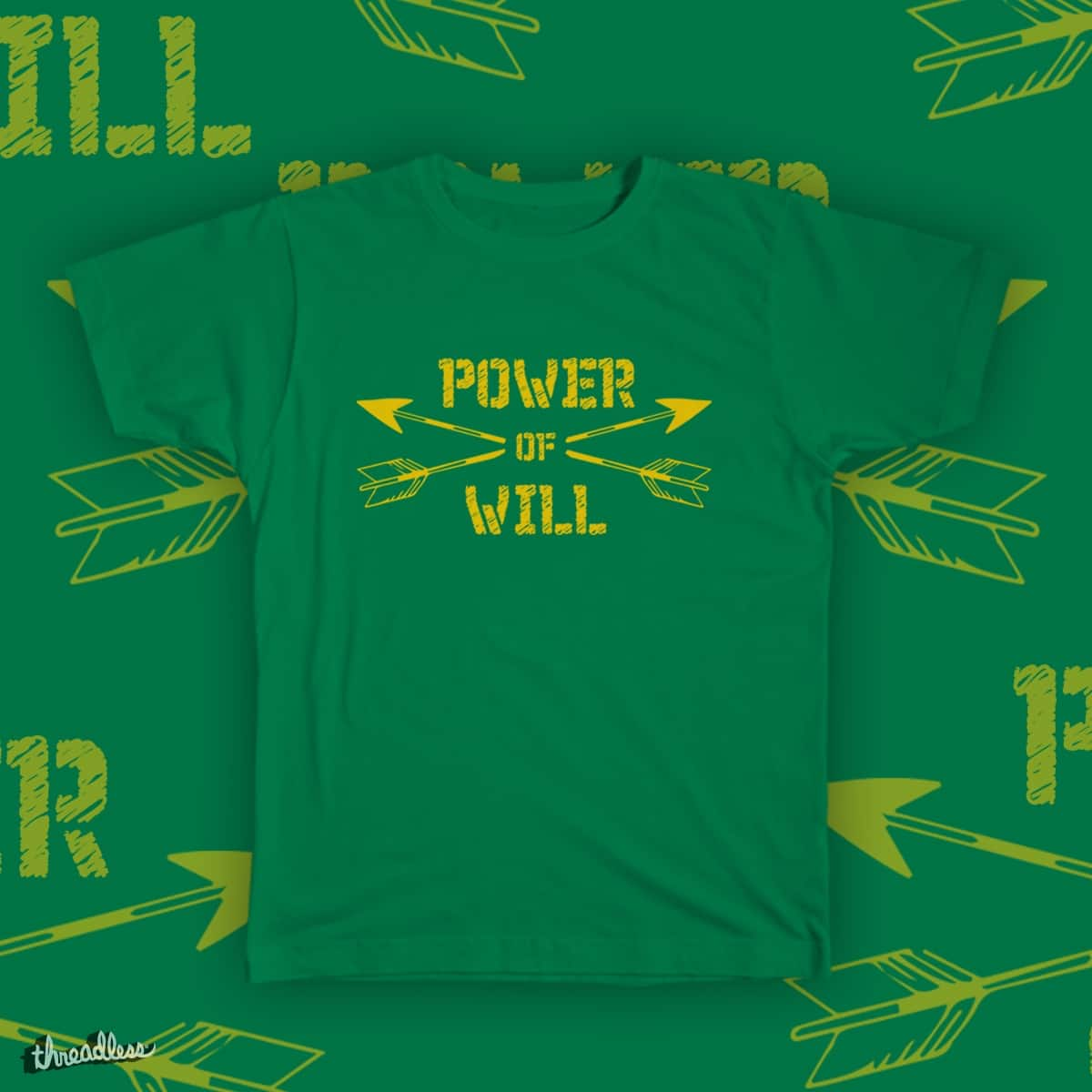 Power of Will by awsultanx on Threadless