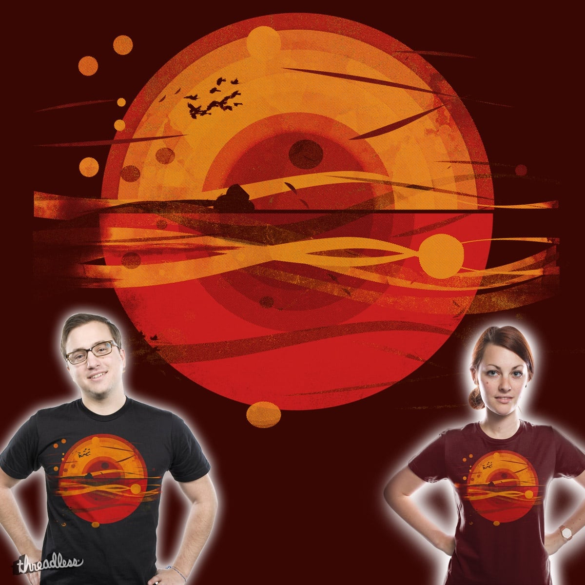 here comes the sun by kharmazero on Threadless