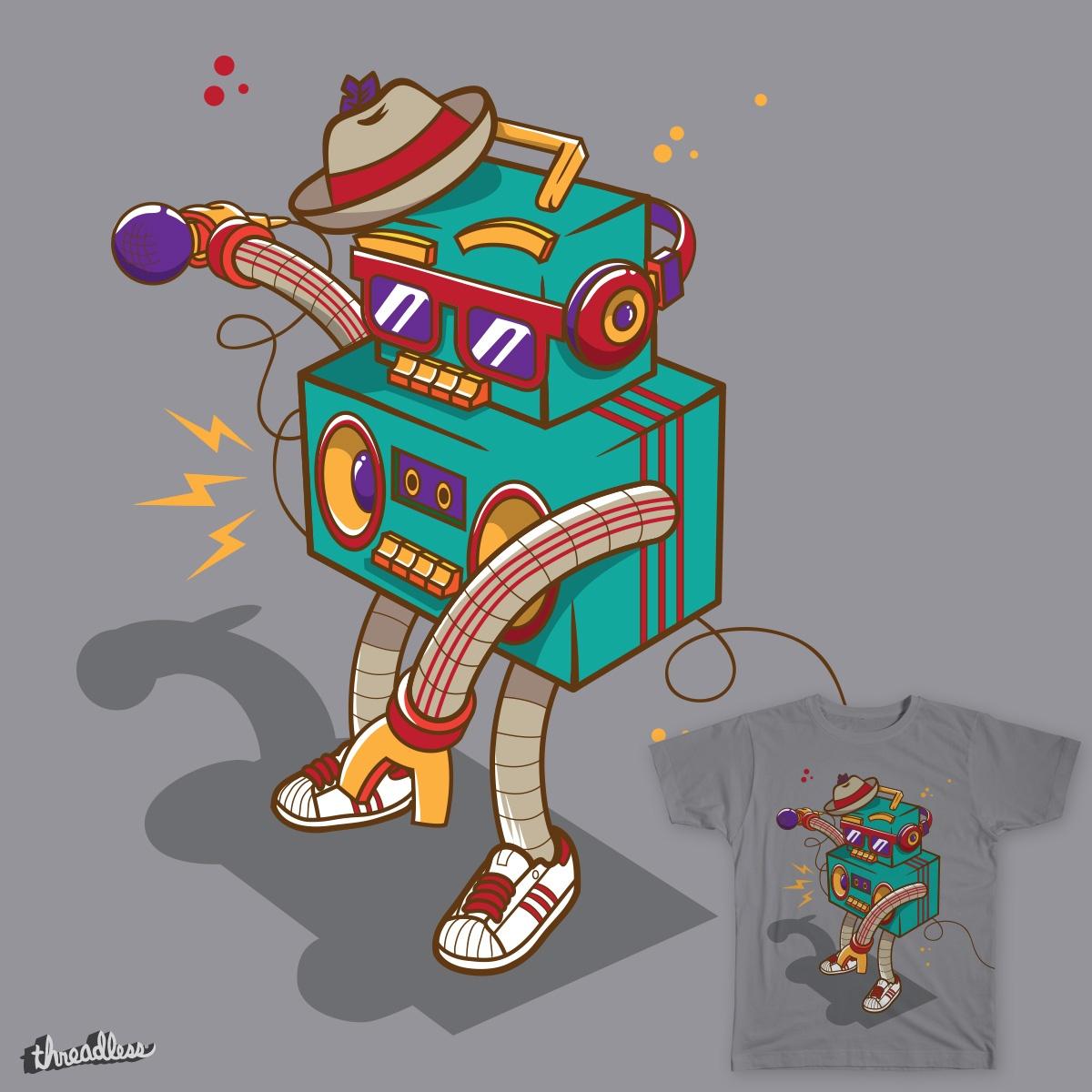 Boombot by TokyoCandies on Threadless