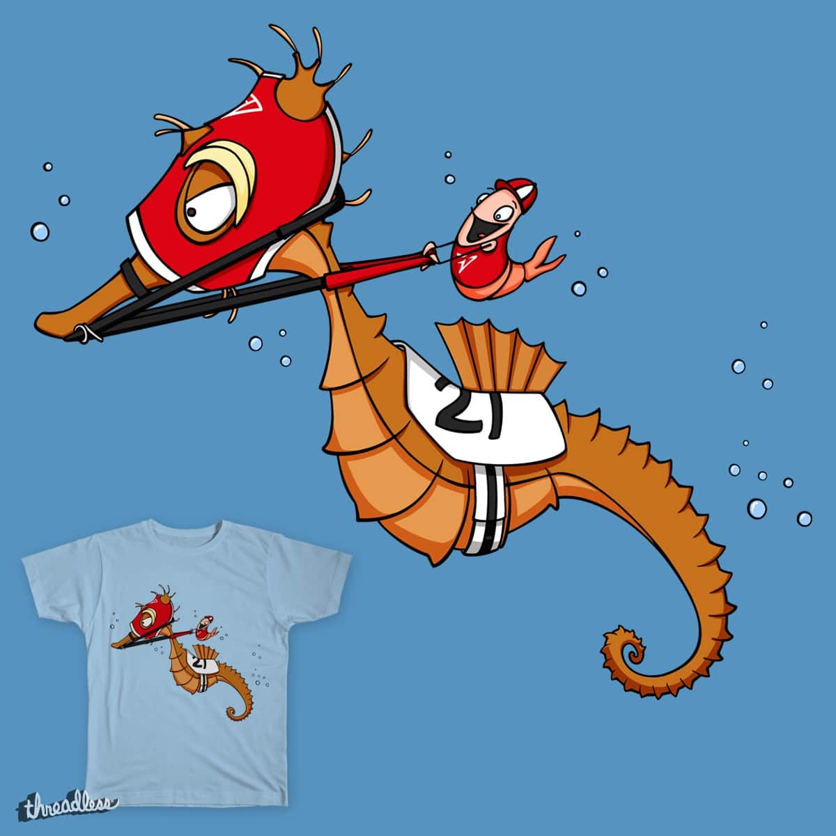Under the Seabiscuit by Spiffy203 on Threadless