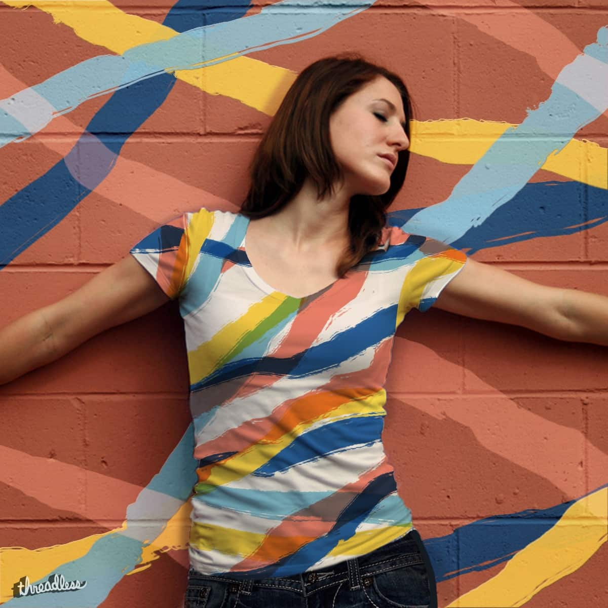 Paint Yourself a Colorful Life by mooshgoboom on Threadless