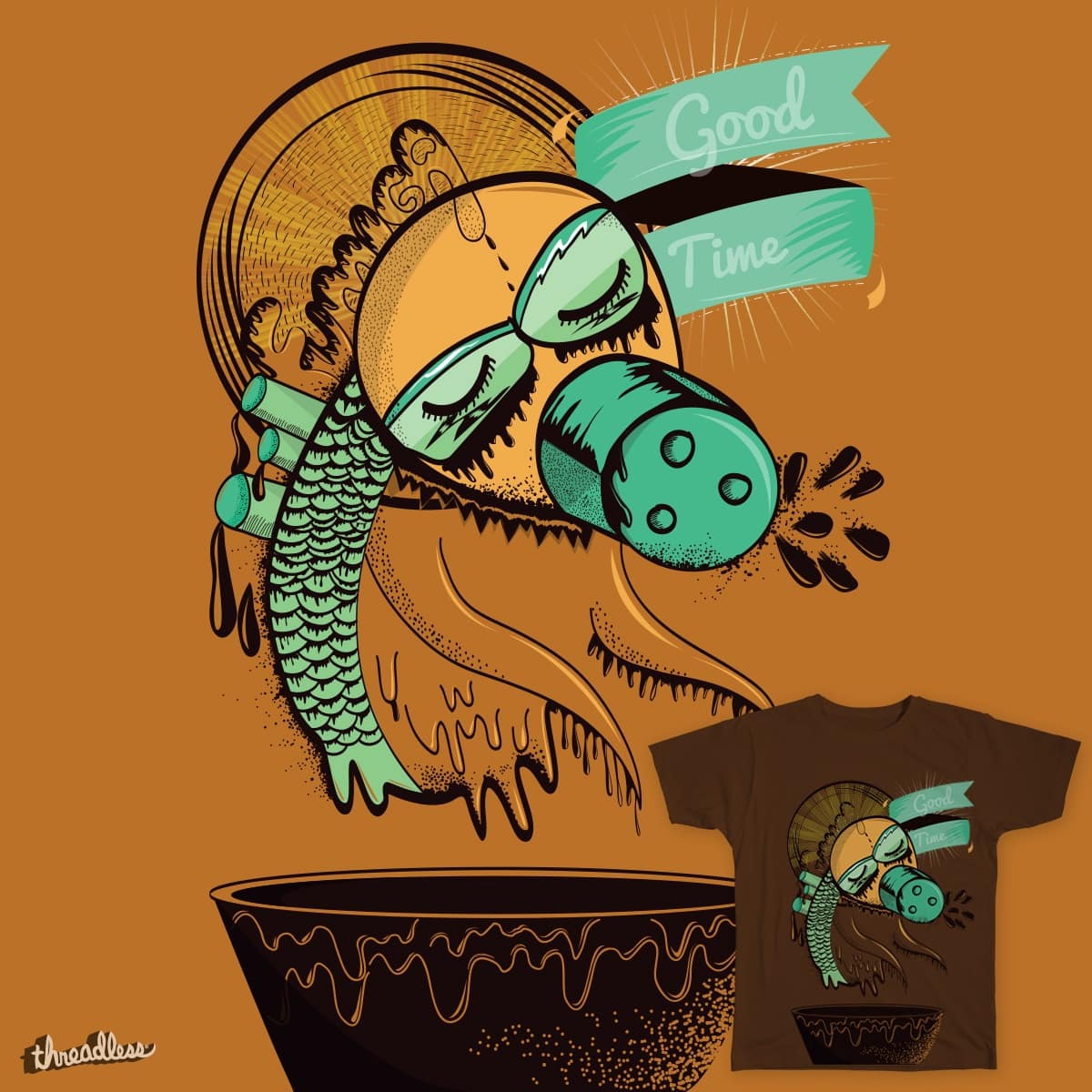 Good time by andreaga on Threadless