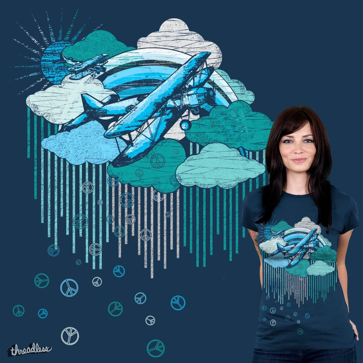 Peace Strike by clsantos82 on Threadless