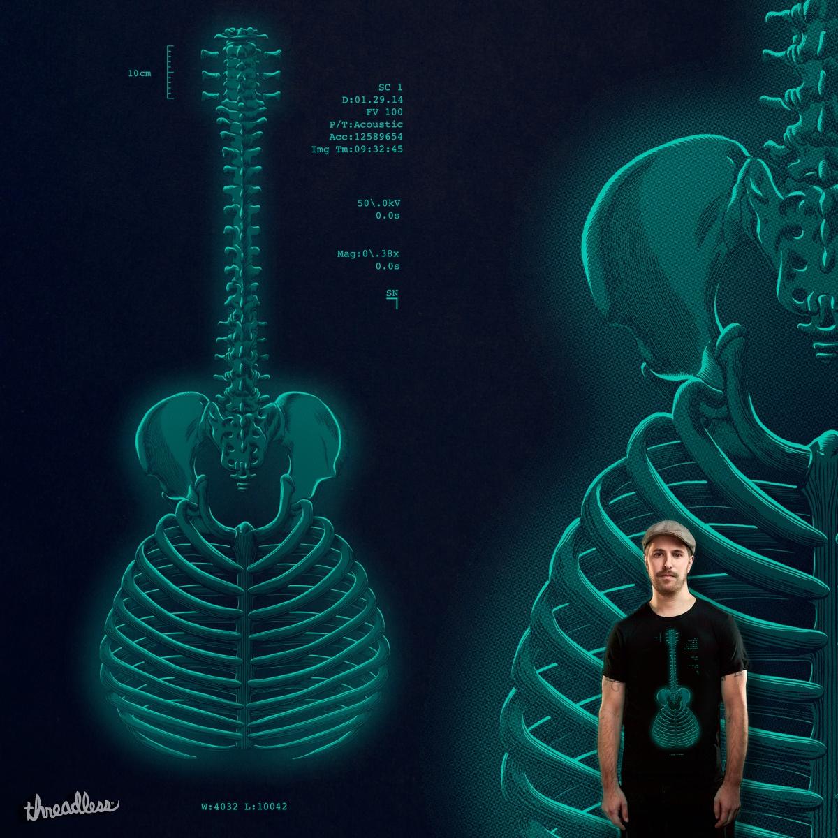 Acoustic Radiograph by v_calahan on Threadless