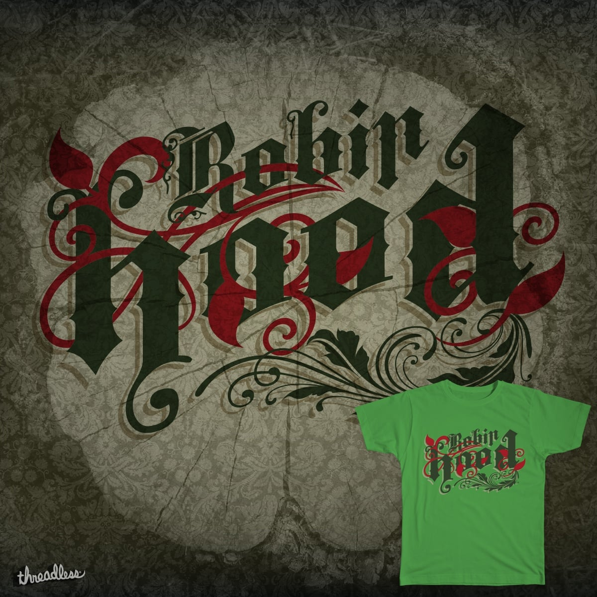 Robin Hood by fattybloor on Threadless