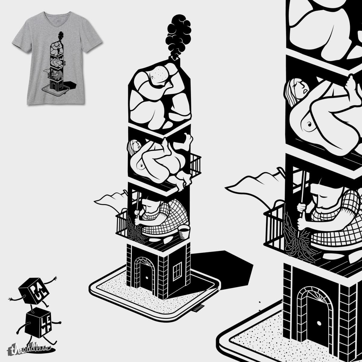 The building by Paulibus on Threadless