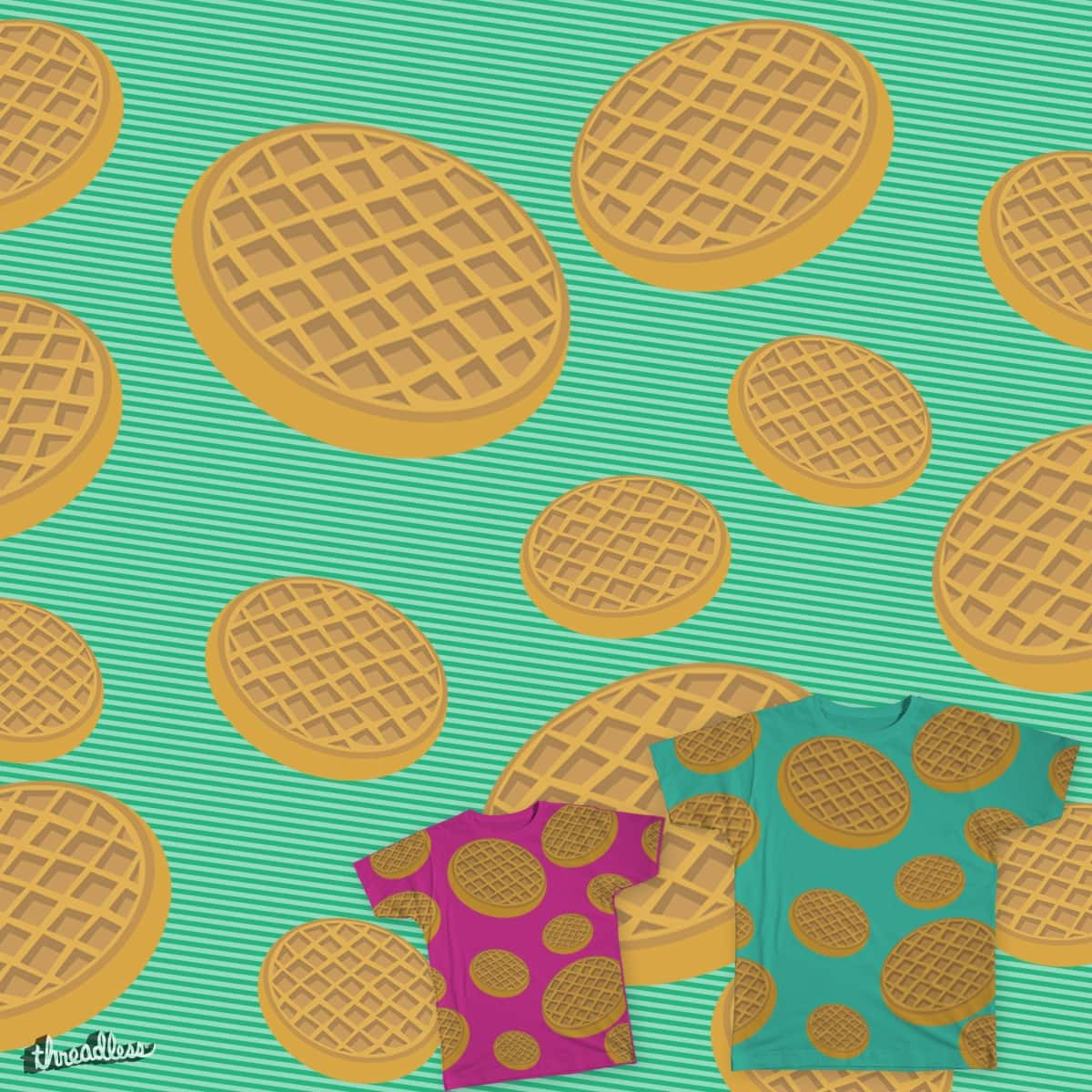 Waffles for everyone by JoniWaffle on Threadless