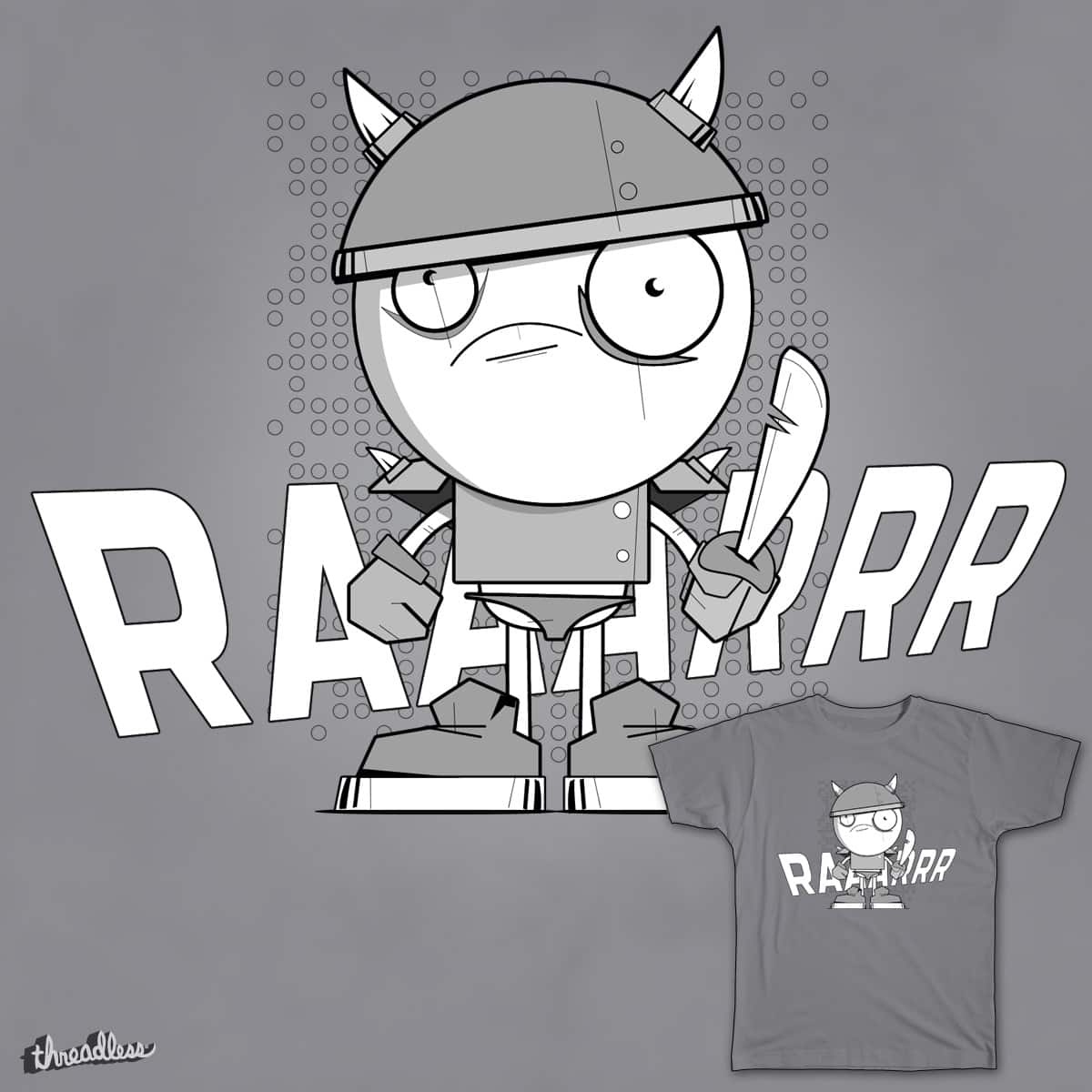 RAAARRR Warrior by DuncDunc on Threadless