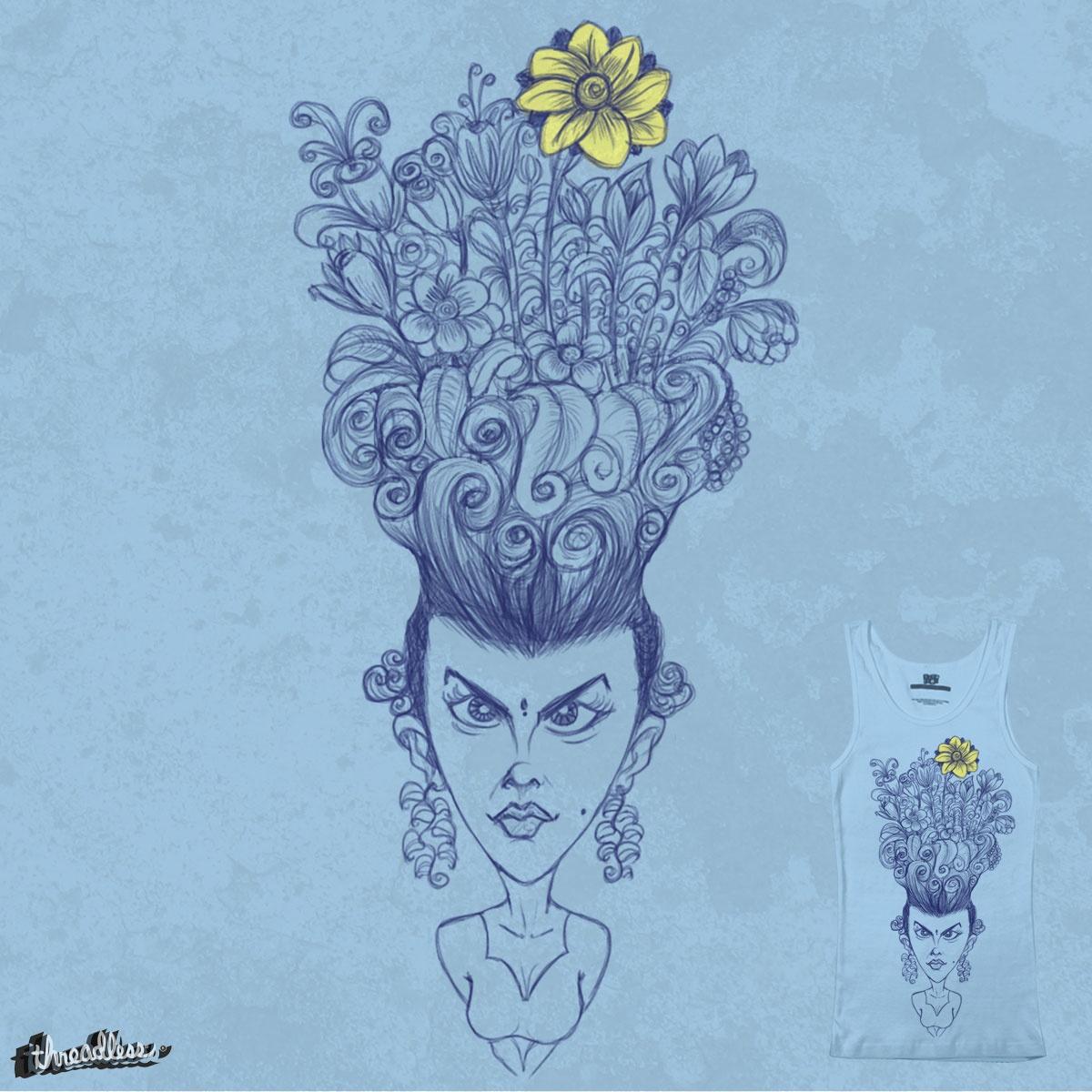 Flower Girl by DAmbati on Threadless